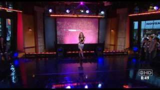 Ashley Tisdale on Good Morning America performing He Said She Said HQ