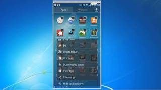 Android Tutorial 5 - Place applications in alphabetical order and Hide unused apps