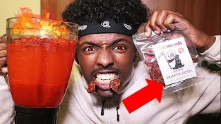 HOTTEST DRINK IN THE WORLD CHALLENGE!! ( 10 MILLION SCOVILLE + CAROLINA REAPER + TOP 5 CHILLIES)