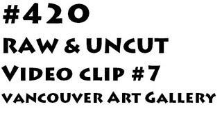 SMOKING POT AT 420 2013 VANCOUVER ART GALLERY