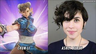 Marvel VS Capcom Infinite - Characters Voice Actors