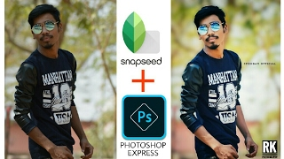DSLR look with SNAPSEED AND PHOTOSHOP EXPRESS
