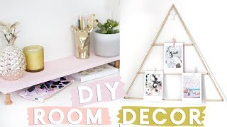 DIY Organisational Room Decor Projects for your Desk | Desk Decor DIY Ideas 2018