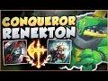 Download Video Download JUST HOW OP IS THE NEW CONQUEROR RENEKTON?? RENEKTON SEASON 8 TOP GAMEPLAY! - League of Legends 3GP MP4 FLV