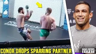 Conor McGregor releases training camp footage for Khabib; Werdum 2 year USADA bán; Aldo to LW; Colby