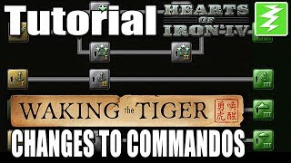 WAKING THE TIGER CHANGES TO SPECIAL FORCES - DAY 6# - Hearts of Iron 4 (HOI4)