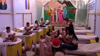 شاهد: أجواء احتفالية في سجن برازيلي بمناسبة عيد الميلاد…