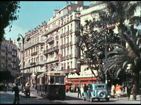 ALGER LA VILLE EN 1938 EN COULEUR