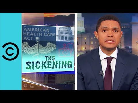 The Republican Healthcare Plan Is Falling Apart The Daily Show Comedy Central