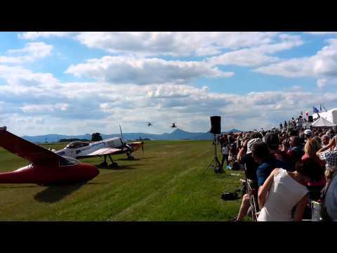 Memorial Air Show 2015   Roudnice nad Labem   Mil Mi-17 + Mil Mi-24
