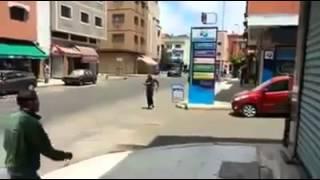 مغربي مهبول.....القفزة الكبرى التي لم تقتله