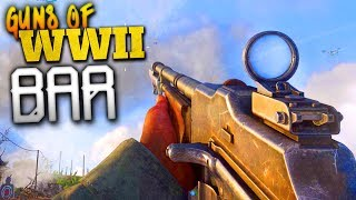 PRO PLAYERS SAY THIS IS THE #1 GUN! - Weapons of COD: WW2 - BAR!