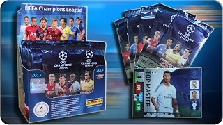Adrenalyn XL DISPLAY CHAMPIONS LEAGUE 2013 2014 Unboxing