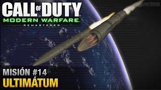 Call of Duty: Modern Warfare Remastered - Misión #14 - Ultimátum (Español / Sin Comentario)