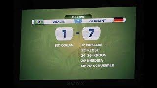 ألمانيا 7-1 البرازيل | كأس العالم 2014