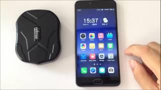 TKSTAR TK905/G218 Magnetic IP67 Car GSM GPS Tracker 5000mAh Li-battery