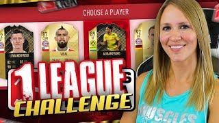 *NEW* FIFA 18 DARE ME TO FUT DRAFT CHALLENGE! 1 LEAGUE