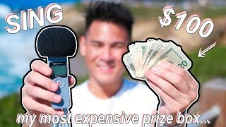 SING FOR ME = WIN $100!