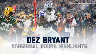 Dez Bryant Goes Off for 132 Yards & 2 TDs | Packers vs. Cowboys | NFL Divisional Player Highlights