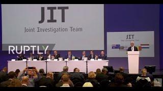 LIVE: JIT presents first results of criminal investigation of MH17 crash