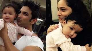 Sushant Singh Rajput CUTEST Picture with MS Dhoni's Daughter Ziva