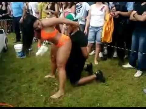 Girlfriend Interrupts Lap Dance