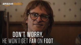 Don't Worry, He Won't Get Far On Foot - Official Trailer   Amazon Studios