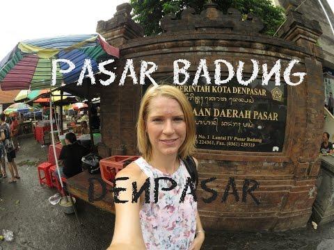 Badung Denpasar Wet Market Pasar Badung I Coffee with Nani
