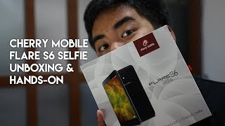 Cherry Mobile Flare S6 Selfie Unboxing and Hands-On
