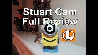 Stuart Cam HD WiFi Camera Review - unboxing, setup, settings, sample video footage