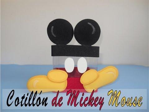 Cotillon o dulcero mickey mouse