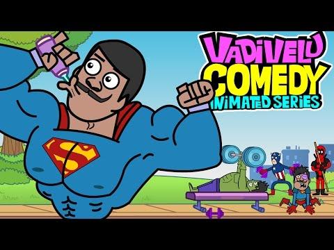 Xxx Mp4 SuperHero Cartoon Vadivelu Comedy Animated Version GYM Fails Ep 3 3gp Sex