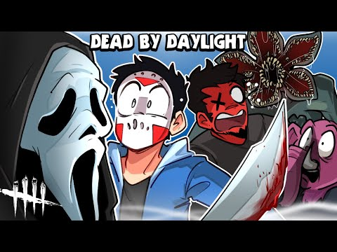 Dead By Daylight CARTOONZ IS PLAYING DBD And my first time seeing GHOSTFACE
