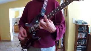 Long train running des Doobie brothers,electric guitar cover par jadoune340.ampli N.O.S ca100