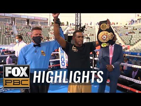 Erislandy Lara KO s Lamanna to win the WBA Regular Middleweight Title HIGHLIGHTS PBC ON FOX