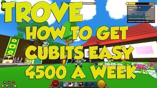 Trove Guide: How to Get Cubits