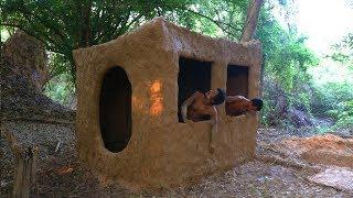 Primitive Tool : Build primitive mud house