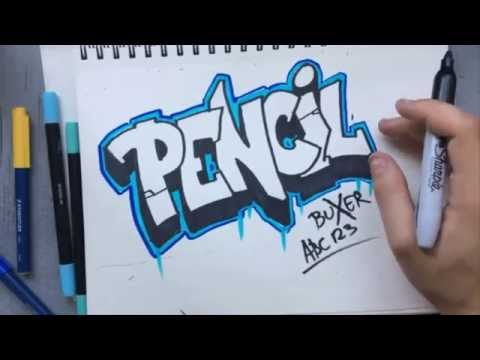 Graffiti lessons ep1 Basics