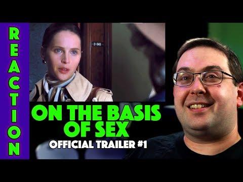 Xxx Mp4 REACTION On The Basis Of Sex Trailer 1 Felicity Jones Movie 2018 3gp Sex