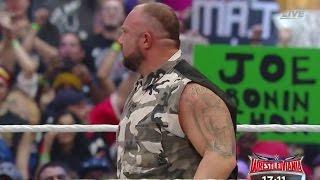 WWE WRESTLEMANIA  32 Live Review 4/3/2016 Roman Reigns vs Triple H - Dallas