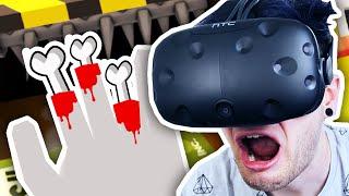I SHREDDED MY HAND!! | Job Simulator