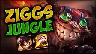 Ziggs Jungle | Ormanın 50 Tonu