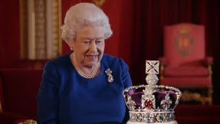 The Queen Opens Up On How Wearing The Crown Could Break Her Neck