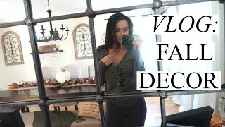VLOG: FALL DECORATING! | Stephanie Ledda