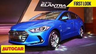 2016 Hyundai Elantra | First Look | Autocar India