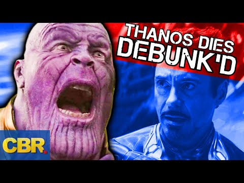 Thanos Will Die In Avengers Endgame And Never Come Back Marvel Theory Debunked