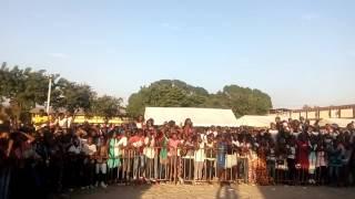ALL BLACK  tient la foule en haleine au Collège moderne de Cocody dès son arrivée
