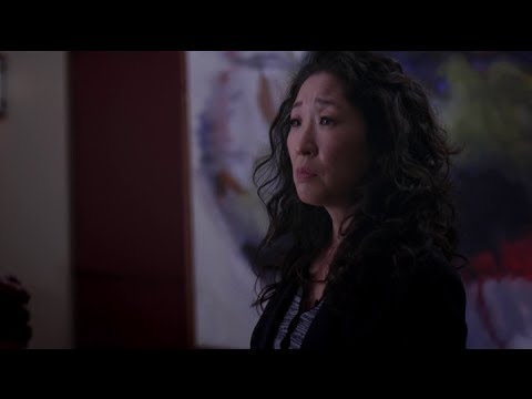 """Grey's Anatomy 10x22 - Cristina and Burke - """"This place is yours Cristina if you want it."""""""