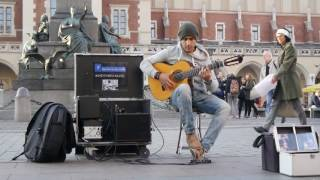 """Amazing street guitar performance by Imad Fares """" Gipsy Kings """" cover"""