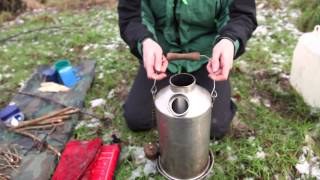 How to use a Kelly Kettle - Branching Out assistant leader training video
